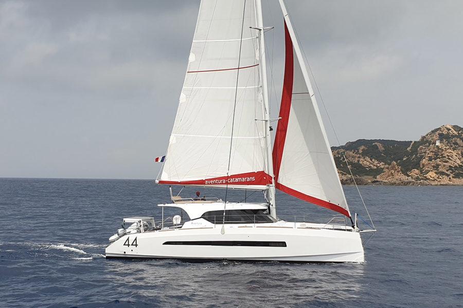 Продается парусный катамаран Aventura 44